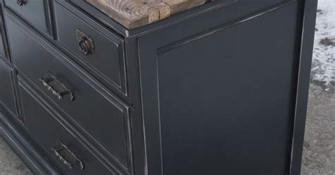 for used kitchen cabinets beautiful dresser painted black and lightly distressed 6677