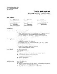 brand ambassador description for resume brand ambassador resume the best letter sle