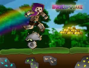 Minecraft Ihascupquake Fan Art