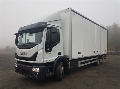Used Iveco -eurocargo-140-250 Box Trucks Year
