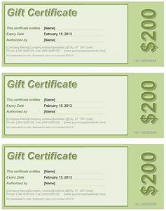 Best Photos of Gift Certificate Word Document - Gift ...