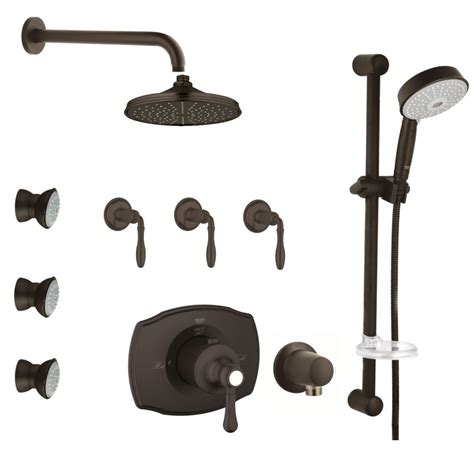 shower system rubbed bronze faucet com gss authentic cth 08 zb0 in rubbed bronze
