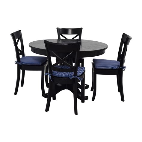 barrel table and chairs 60 off crate barrel crate barrel table and chairs