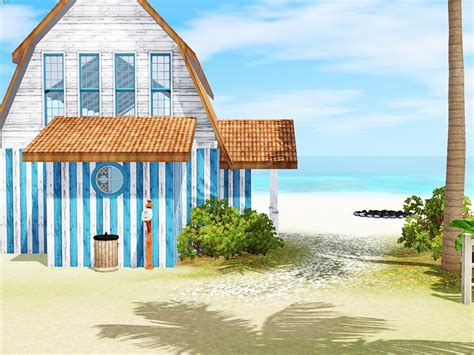 My Sims 3 Blog Beach House By Simsplification