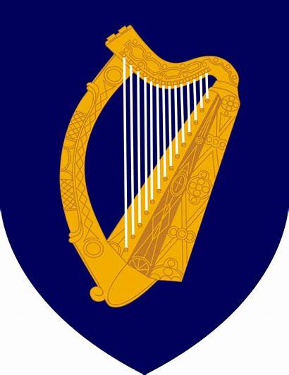 Arms Coat Ireland Svg Irish Symbol National