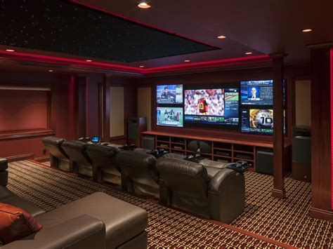 Media Room Designs From Cedia 2014 Finalists Home