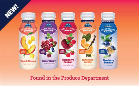 Greek Yogurt Smoothies | 5 New Flavors with 13 g of