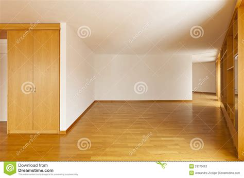 vide chambre module de mur dans la chambre vide photo stock image