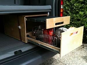 Wohnmobil Innenausbau Holz : vw bus innenausbau bauanleitungen doppelbett im vw caddy ~ Jslefanu.com Haus und Dekorationen