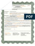 discharging indemnity bond