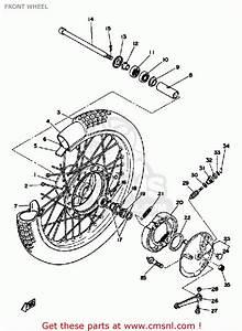 Yamaha Dt125 1979 Usa Front Wheel