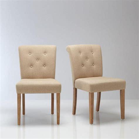 le monde de la chaise chaise salle a manger en tissu le monde de léa