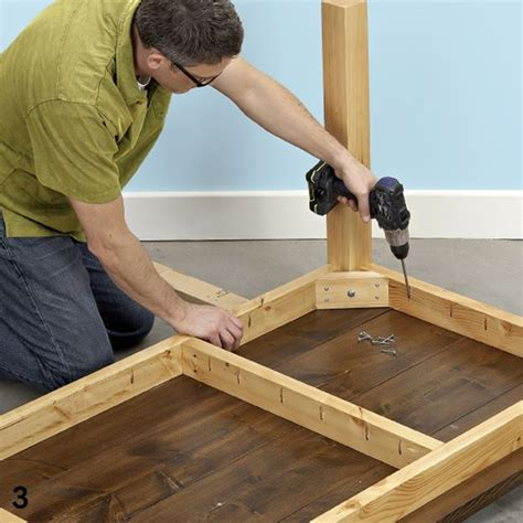 build a wooden desk come costruire un tavolo in legno legno costruire