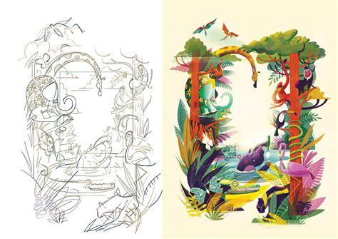Jungle Illustration on Behance