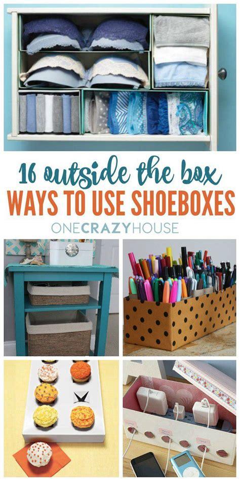 box ways   shoeboxes life hacks