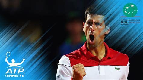 EN DIRECT / LIVE. Rafael Nadal - Novak Djokovic - Masters Rome - 19 mai 2018 - Eurosport
