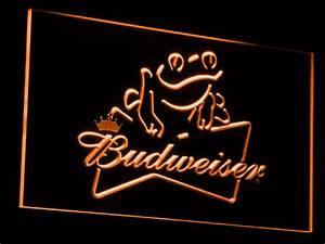 Budweiser Frog LED Neon Sign
