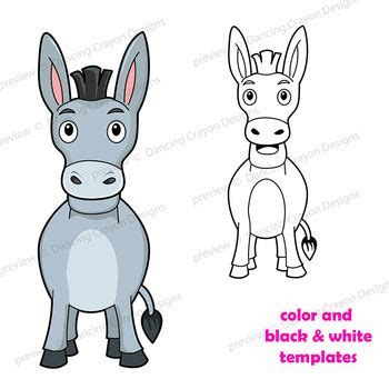 puppet donkey craft printable paper bag puppet template
