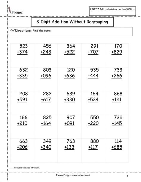 math problems  elementary students  grade addition