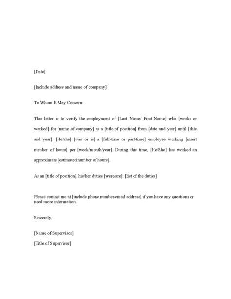 employment letter hashdoc visa employment verification letter check out visa 93839