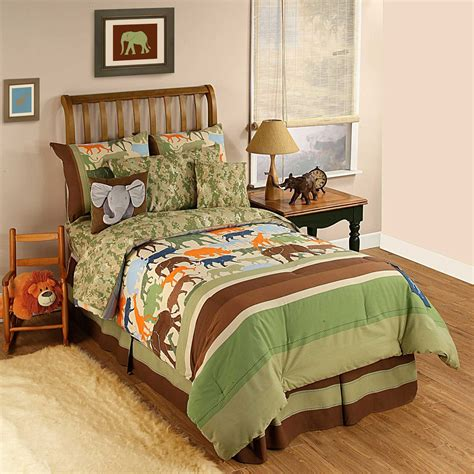 twin size bedding   boys pc disney safari