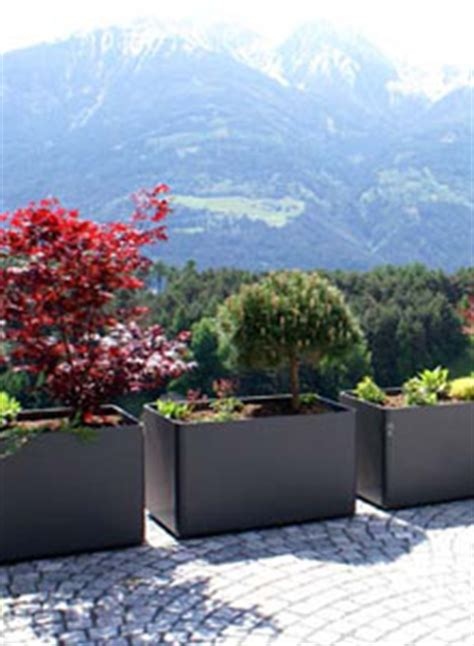 modern outdoor planters rectangular tall planter pot   stardust