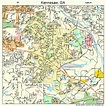 Kennesaw Georgia Street Map 1343192
