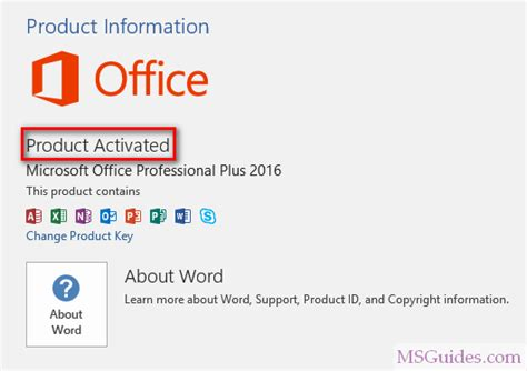 activate microsoft office   product key