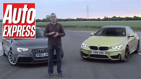 2015 Audi Rs5 Cabriolet Vs. 2015 Bmw M4