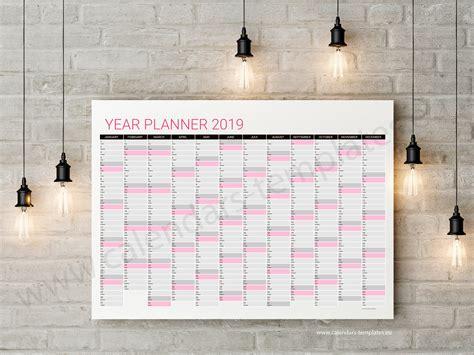 printable year planner