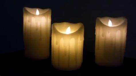 candele con led candele led con cera vera effetto fiamma tremolante