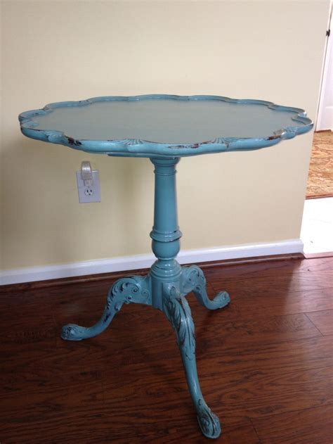 Ain't your Mama's pie crust table!   PamC Designs