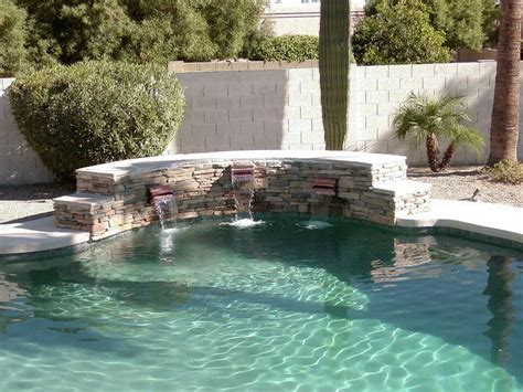 scupper water features gallery true blue pools