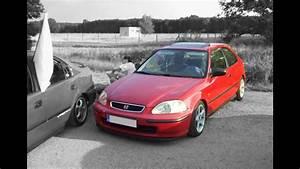 Honda Civic Eg3 : honda civic ej9 crash youtube ~ Farleysfitness.com Idées de Décoration