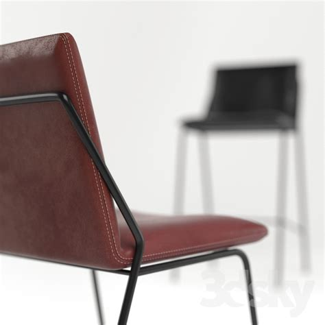 3d models chair leather sling collection by industry