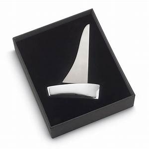 sailing boat letter opener with paper clip holder tartan With letter opener holder
