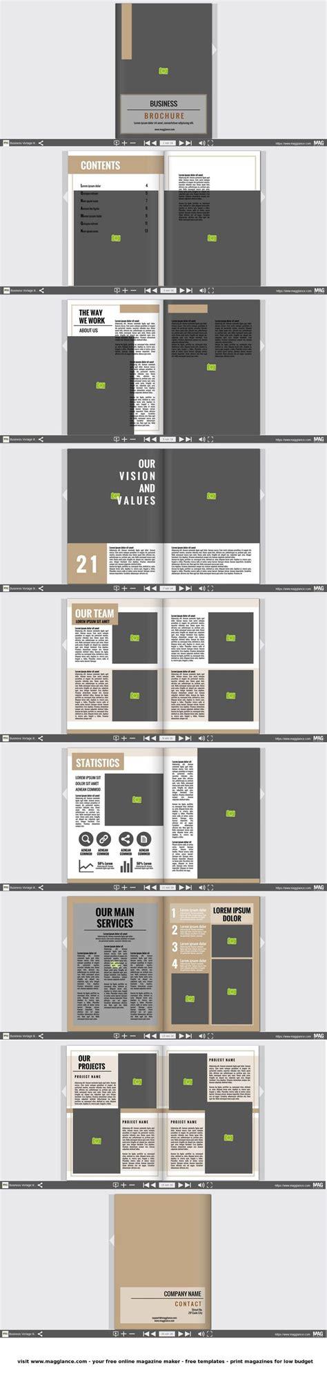 brochure cover ideas  pinterest brochure