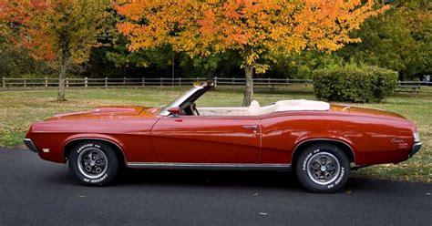 mercury cougar  mercury cougar xr convertible