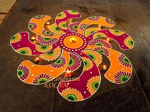 Gorgeous Rangoli Designs And Ideas For Diwali 2017 ...