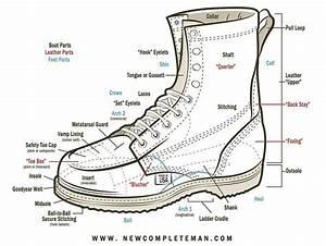 35 Parts Of A Boot Diagram
