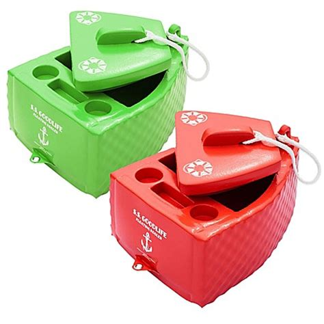 Boat Shaped Drink Cooler by Soft 174 S S Goodlife Floating Cooler Www