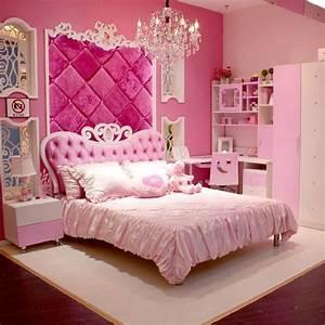 Chambre Ado Fille : 25 chambres de princesses votre fille va adorer ~ Teatrodelosmanantiales.com Idées de Décoration