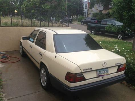 1991 mercedes benz 300d 2.5 turbo diesel low miles $12,000 (lax > bel air) pic hide this posting restore restore this posting. Find used 1987 Mercedes Benz 300D Turbo Diesel biodiesel alternative fuel 124.133 w124 in Denver ...