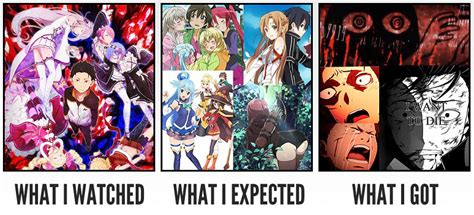 Re Zero Memes - re zero what i watched what i expected what i got know your meme
