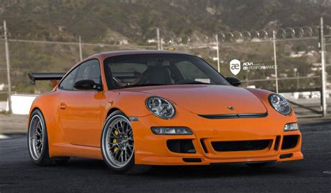 porsche 911 orange orange porsche 911 gt3 rs on adv 1 wheels by ae