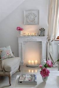 26 Charming Shabby Chic Living Room Décor Ideas - Shelterness