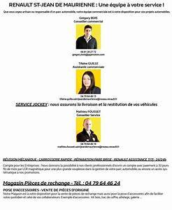 Renault St Jean De Maurienne : renault pro renault saint jean de maurienne ~ Gottalentnigeria.com Avis de Voitures