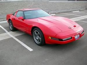 U0026 39 88 Corvette C4 In Red Line