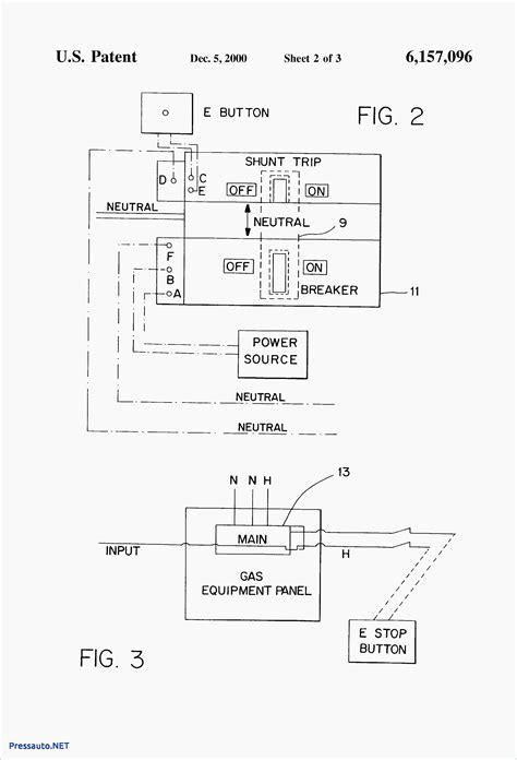 Cutler Hammer Shunt Trip Breaker Wiring Diagram Free
