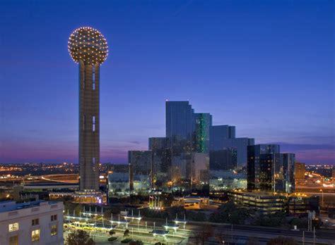 Reunion Tower Observation Deck Height by Hyatt Regency Dallas
